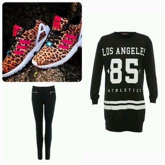 shoes leopard print adidas shoes shirt pants jeggings noire sweater