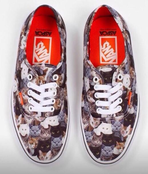 4f7eb6dd9a shoes vans cat print cat vans aspca vans