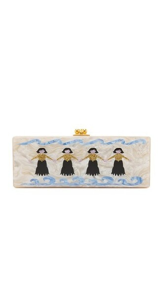 clutch nude bag