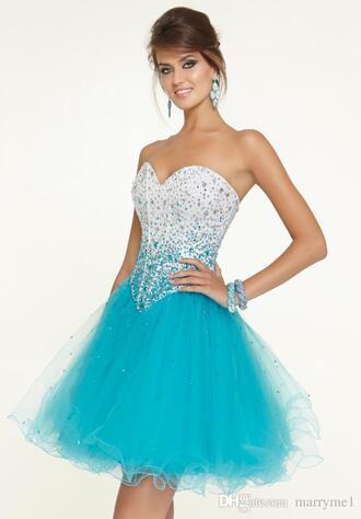 dress teal dress turquoise dress short prom dress sequin beaded dress sequin prom dress beaded short dresses