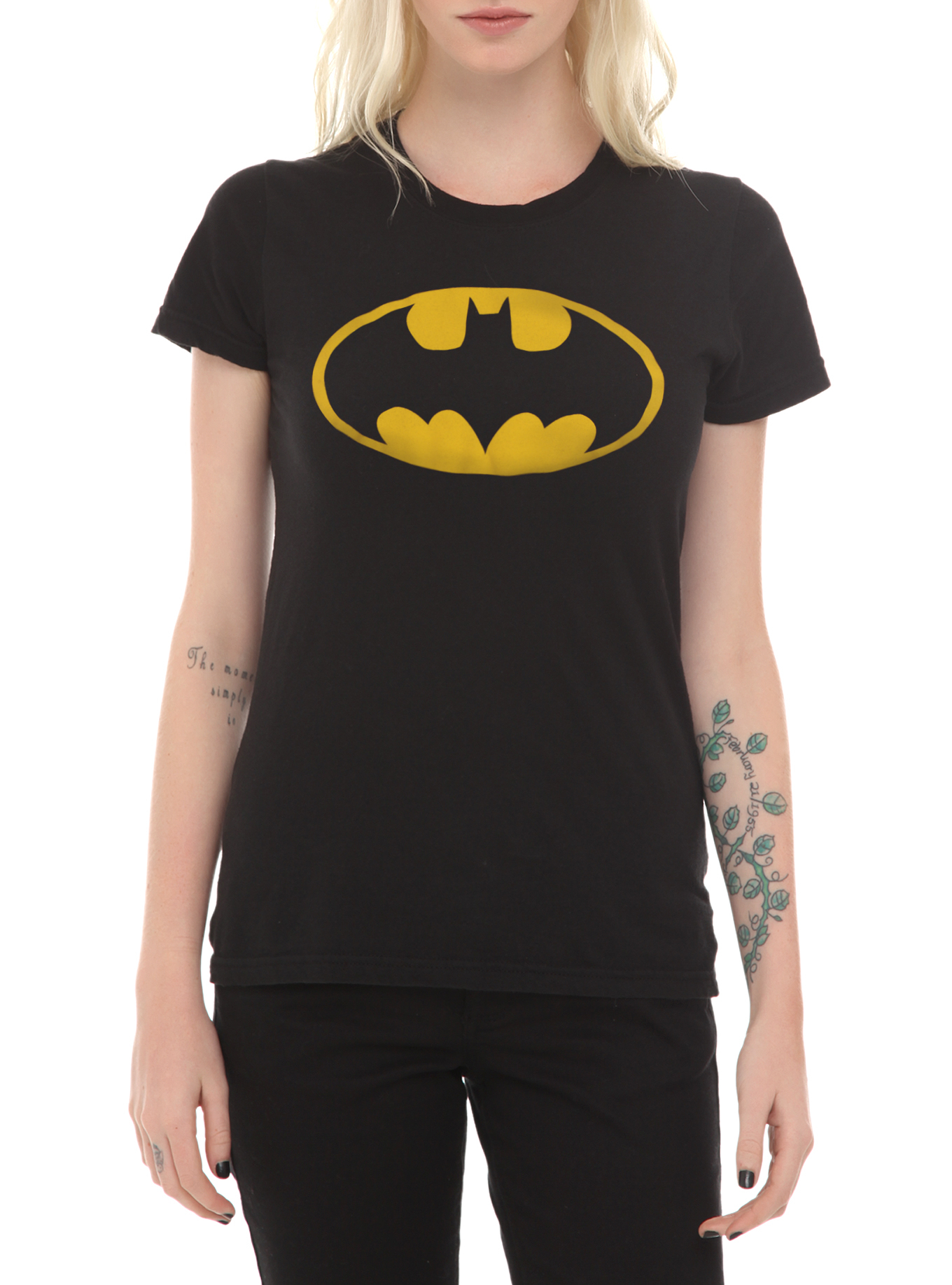 DC Comics Batman Logo Girls T-Shirt | Hot Topic