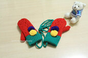 gloves,christmas,girl,snow,style,cold,hand made,boy/girl,girly,kids fashion,baby clothing,beautymanifesto