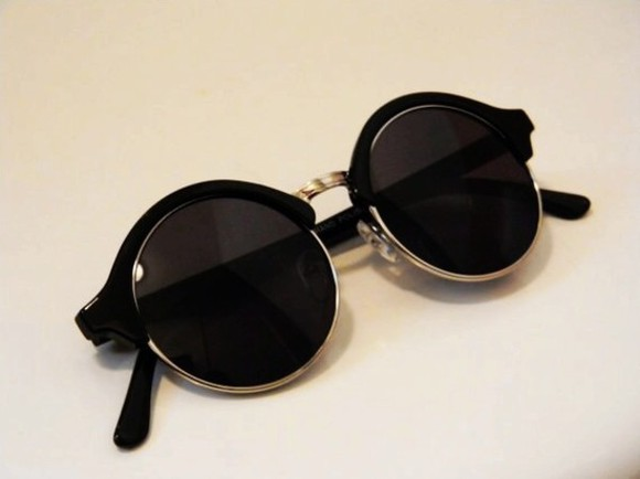 sunglasses round sunglasses accessories cute black fashion accessories