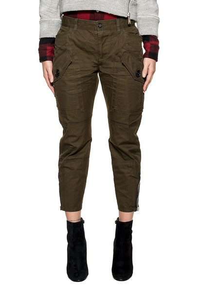 green army green pants