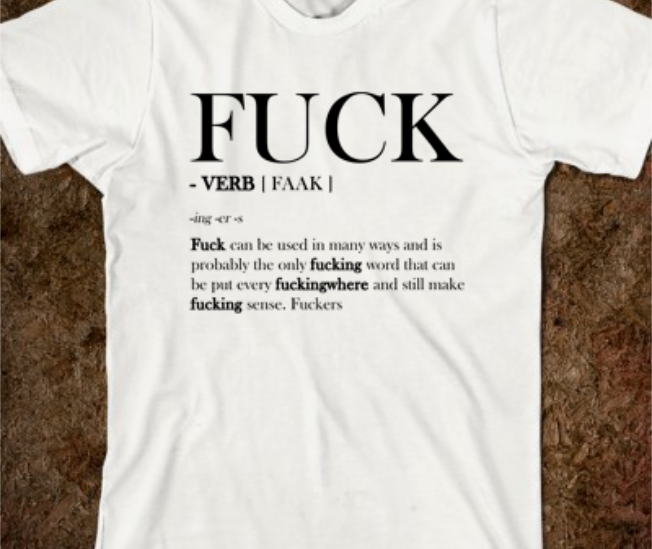 F Word Tutorial Tee
