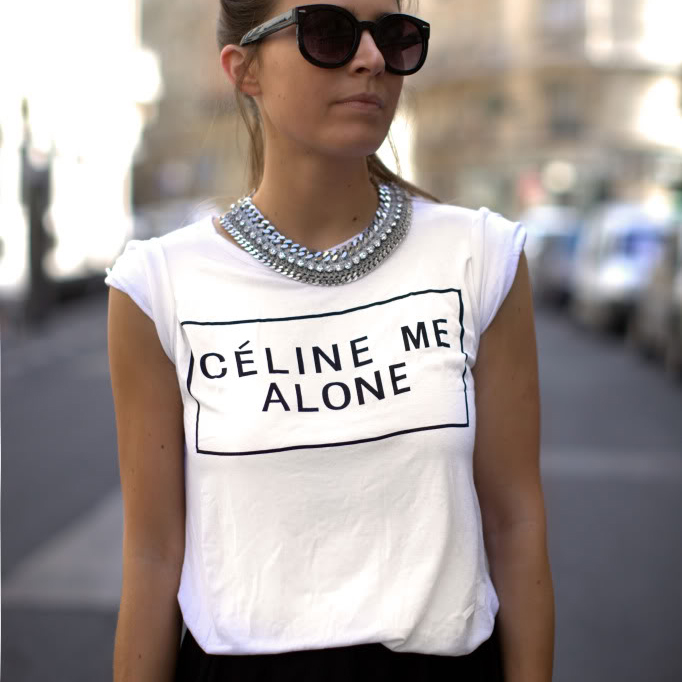 Fancy - Celine Me Alone T-Shirt