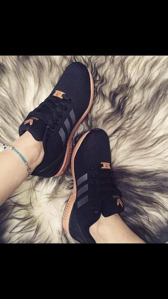 shoes adidas shoes adidas sneakers black gold