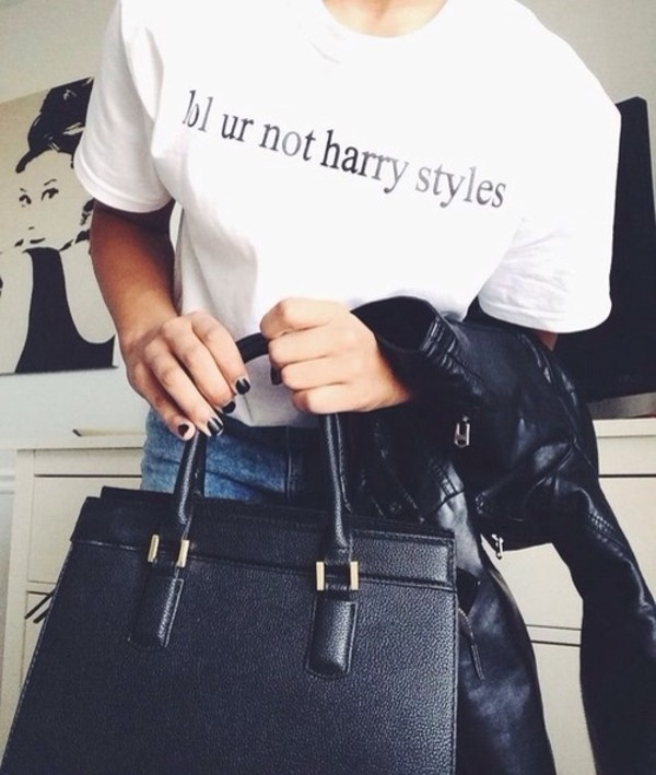 shirt harry styles t-shirt bag