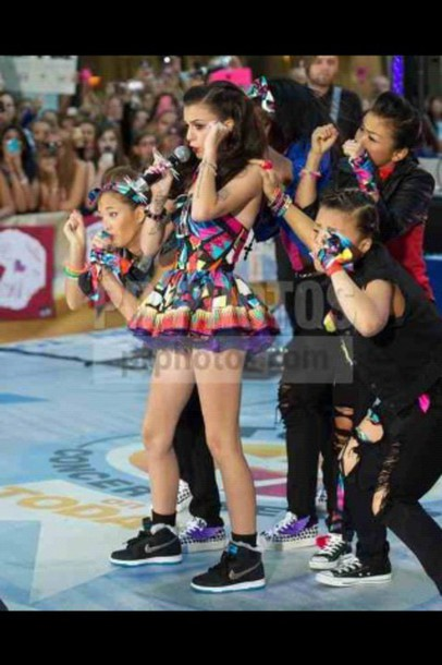 dress rainbow nike running shoes nike black shoes cher lloyd