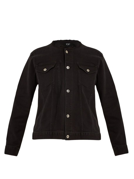 Eve Denim jacket denim jacket denim black