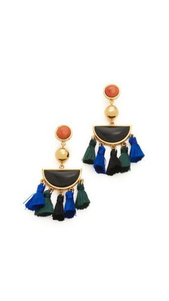 Lizzie Fortunato Fiesta Earrings - Gold Multi