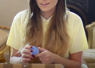 shirt polo shirt pastel shirt cute shirt yellow t-shirt cutiepiemarzia