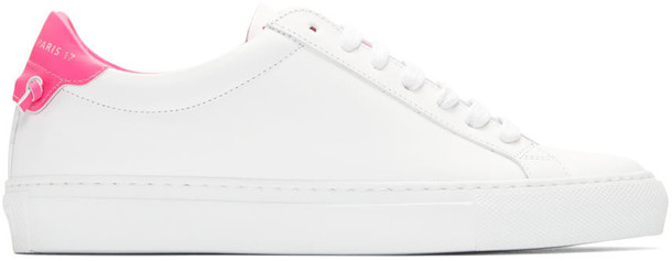 urban sneakers white pink shoes