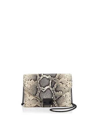 bag chain bag python snake loeffler randall