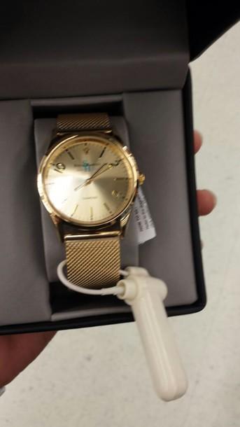 jewels steve harvey gold watch