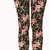 Forever 21 Flower Child Leggings in Multicolor (BLACK/PINK) | Lyst