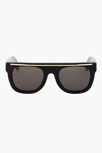 flat black sunglasses menswear chicano