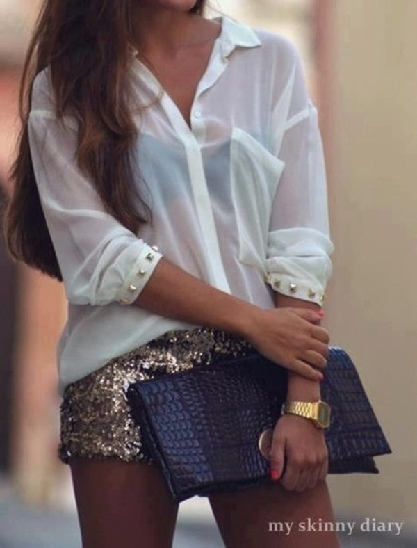 Glitter Shorts - Fy
