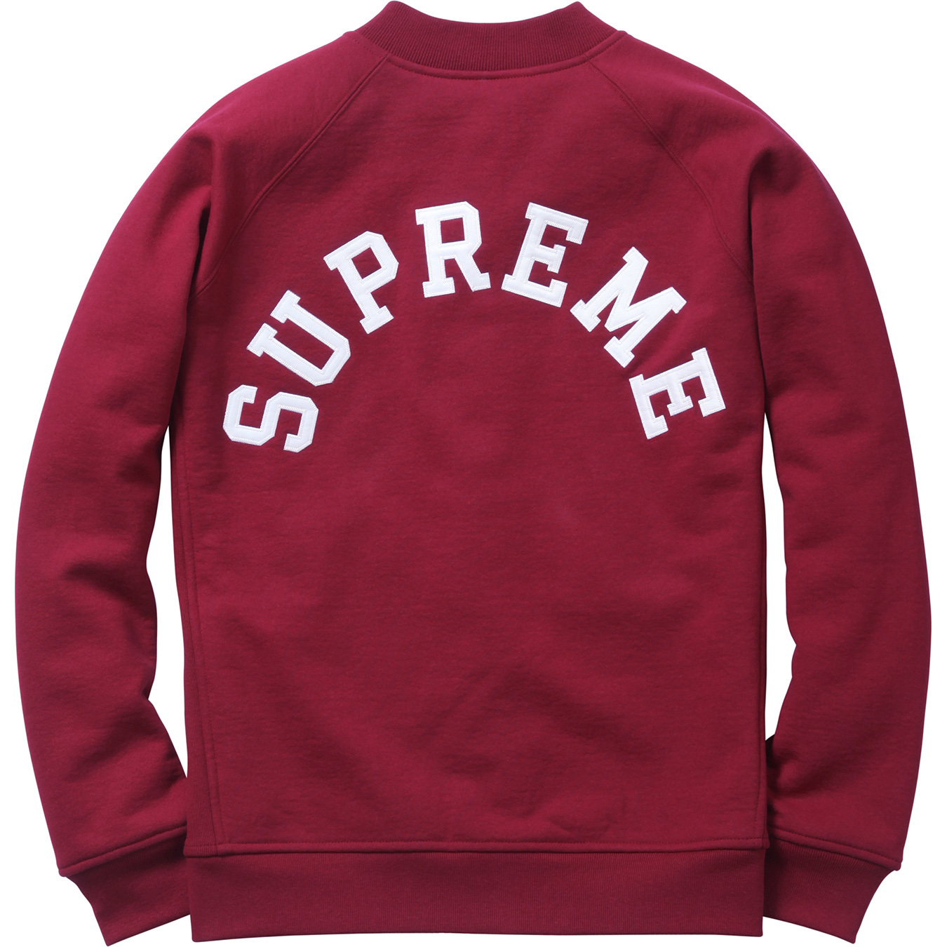 Supreme - Snap Front Arc Logo Sweatshirt | Available Now - FreshnessMag.com