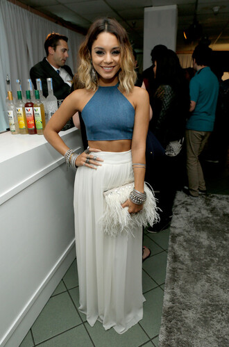 bag vanessa hudgens skirt top flare
