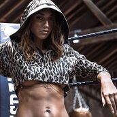top,hoodie,lingerie,body,bra,fashion,clothes,style,outfit,crop tops,cropped,sexy,leopard print,women,grey,wolf