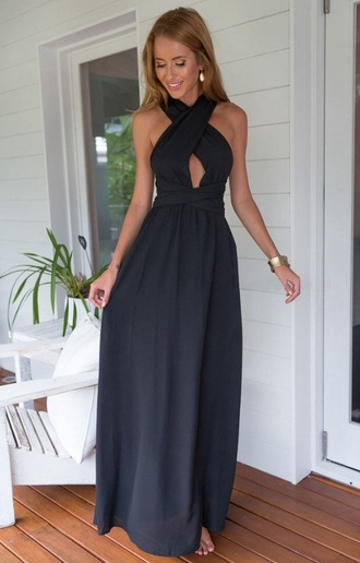 dress black pretty girl women tumblr tumblr girl