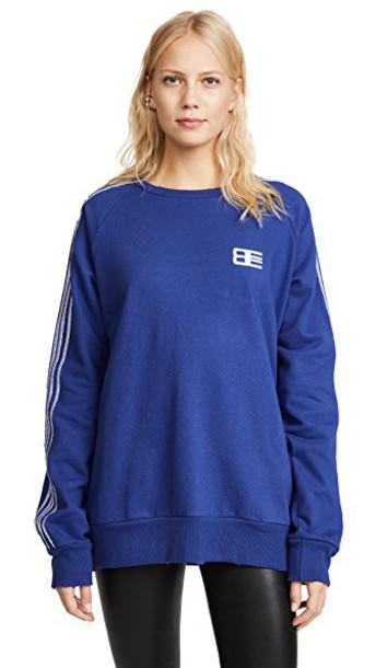 Baja East sweatshirt embroidered sweater