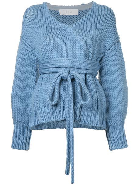 Irene cardigan cardigan women blue wool sweater
