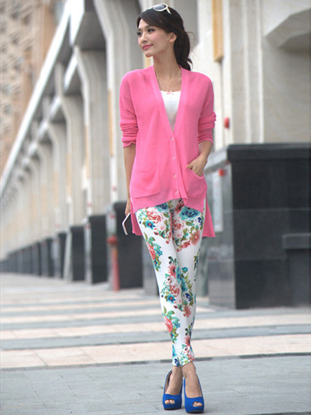 Floral Zan Leggings | Outfit Made
