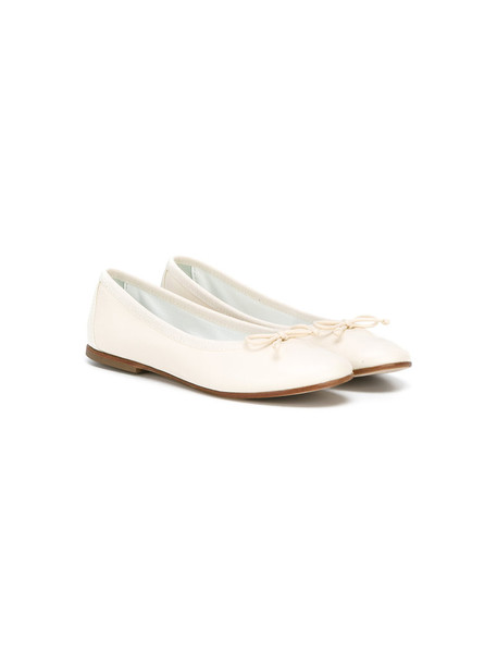 Andrea Montelpare classic leather white shoes