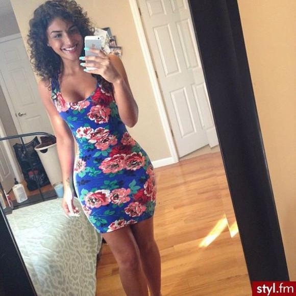 printed dress above knee dress