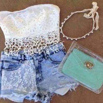 shirt lace white daisy floral top lace floral top lace bralette bralette brandy melville bethany mota skirt shorts jewels bag youtube military style jacket boot