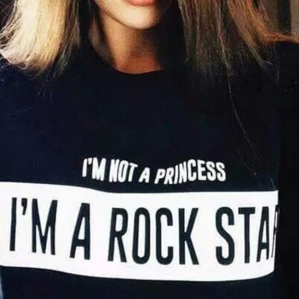 t-shirt shirt rock star black black shirt grunge rock hipster hipster shirt