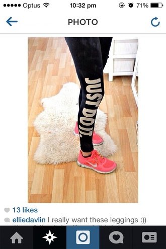 pants nike nike running shoes nike air nike sneakers workout leggings gym clothes sports shoes cute gym clothes gym just do it black leggings sports leggings black leggings glitter sparkle aquamarine running shoes fit sneakers