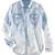 ROMWE | Arc Hem Buttoned White Shirt, The Latest Street Fashion