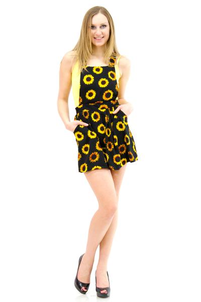 Sunflower jumper dress