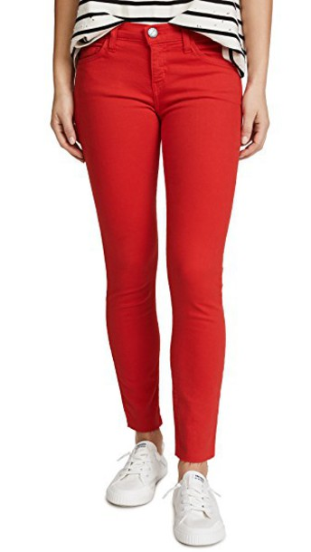 Current/Elliott jeans red