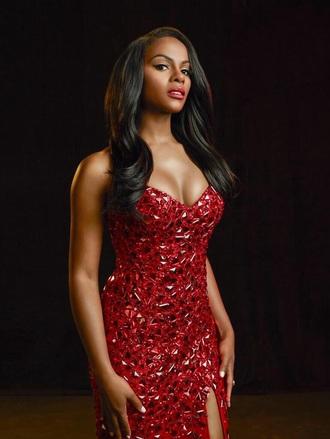 dress red dress tika sumpter prom dress helpmefindthis