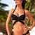 Spaghetti Strap Solid Color Sexy Style Nylon Bikini : KissChic.com