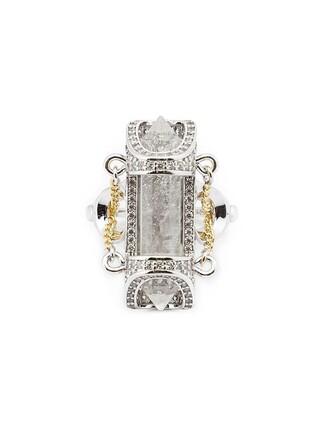 stone ring ring metallic jewels