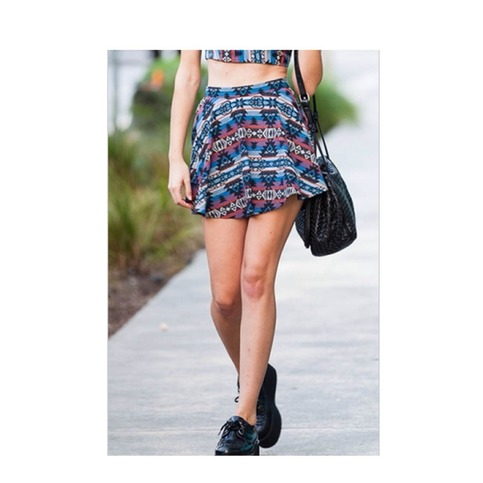 Aztec Skater Skirt | Forever Mint | Online Store Powered by Storenvy