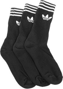 Adidas Crew Solid 3-Pack Socken schwarz im WeAre Shop