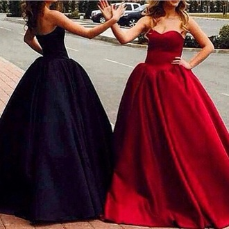 dress prom dress red dress black dress ball gown prom long dress