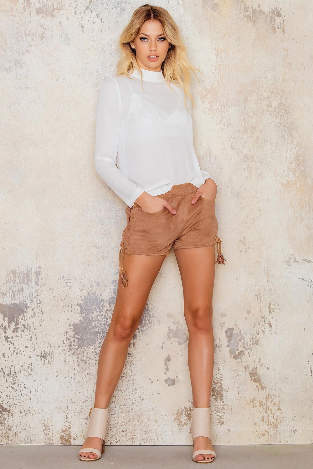 Sally & Circle Louisiana shorts