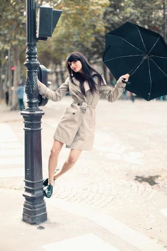 coat the cherry blossom girl