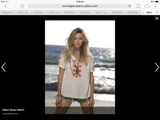 top 90210 gillian zinser beach jewels