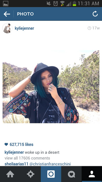 classy bohemian chic kylie jenner hat