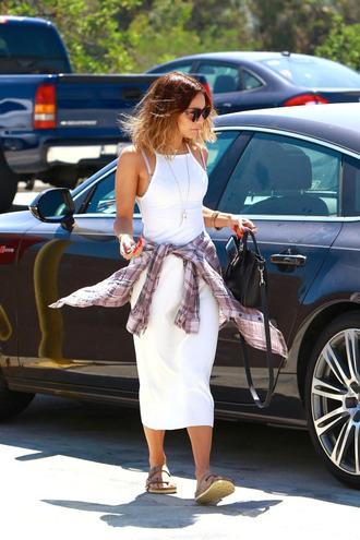 dress white vanessa hudgens long dress shoes white dress