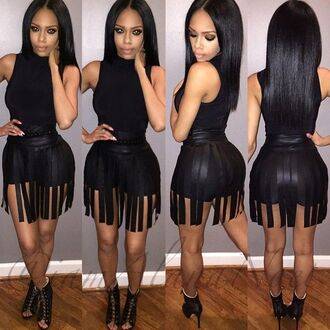 romper black dress strappy dress