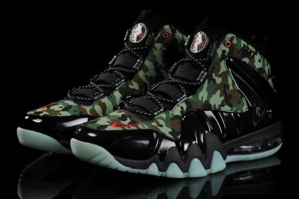Shoes Nike Charles Berkley Sexy Swag Camouflage
